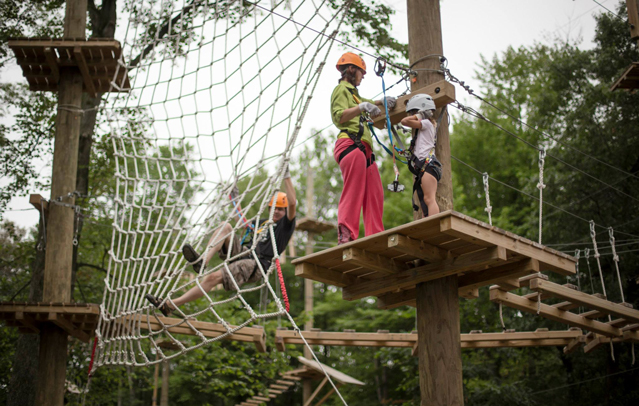 Challenge Course at Trollhaugen