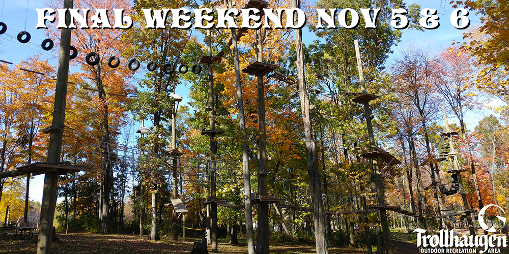 Aerial Challenge Course Adventure | Minnesota Wisconsin MN WI Twin Cities Adventure Recreation Zipline