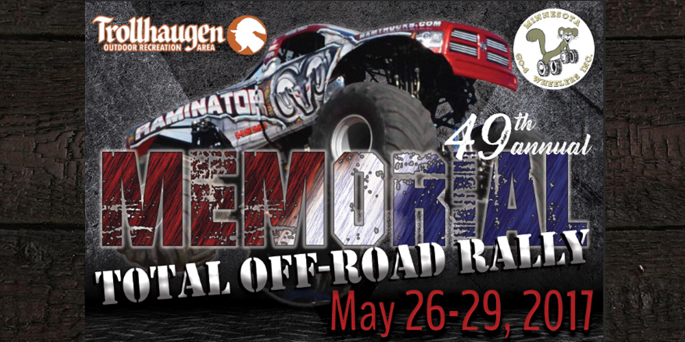 Memorial Total Offroad Rally - Monster Trucks - Minnesota (MN) Wisconsin (WI)